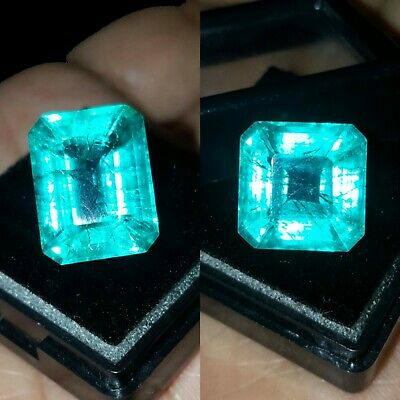 Natural Emeralds  1 to 1.50 ct Each 2 Pieces Pair Of  Zambian Certified Gems