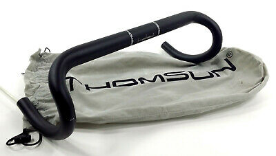 31.8 Thomson Round alloy road bar, 42cm black