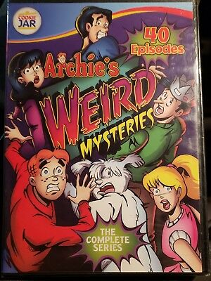 Archie's Weird Mysteries - The Complete Series - 40 Episodes 4 DVD Set brand New