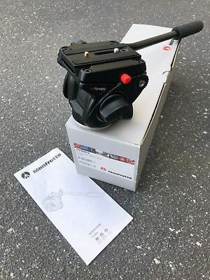Manfrotto 701HDV Video Fluid Head - Flat Base