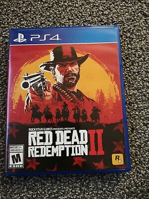 Red Dead Redemption 2 Game PlayStation 4 (PS4, 2018)