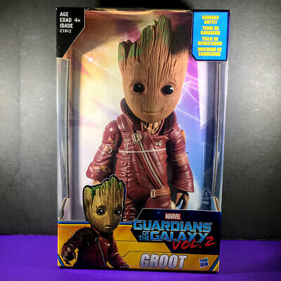 "Marvel Guardians of the Galaxy Vol 2 BABY GROOT 10"" Ravager Figure NEW - Hasbro"