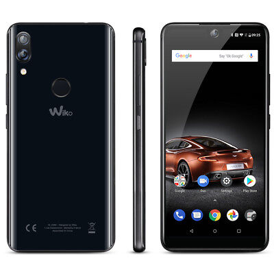 "6"" Wiko View 2 Pro 4G Smartphone Android 8.0 Octa Core Face ID Fingerprint 16MP"