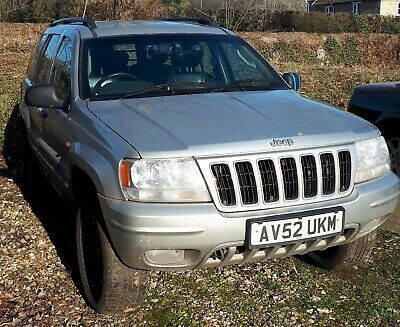 Jeep Grand Cherokee CRD Limited Auto Spares or Repair