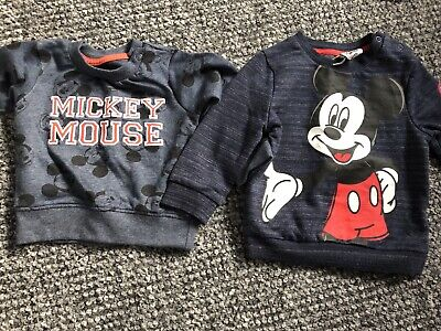 Mickey Mouse Jumpers 6-9 Months