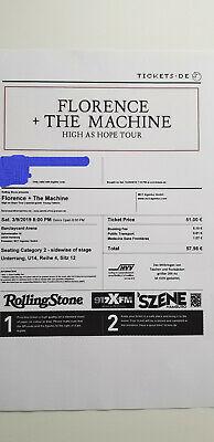 Florance and the Machine 9.3.2019 Hamburg -SOLD OUT-