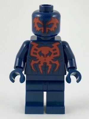Lego Super Heroes Spider-Man 2099 sh539 (From 76114) Spiderman Minifigure New