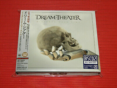 2019 DREAM THEATER DISTANCE OVER TIME w/ BONUS TRACK JAPAN 2 BLU-SPEC CD STICKER