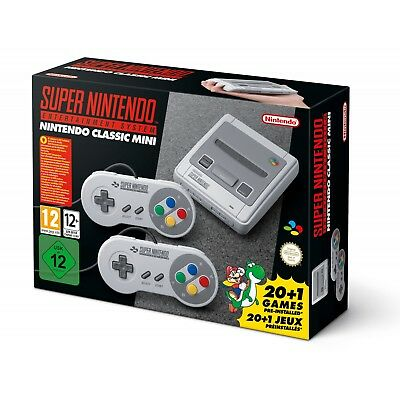Nintendo Classic Mini Console for Super Nintendo Entertaining System with 21...