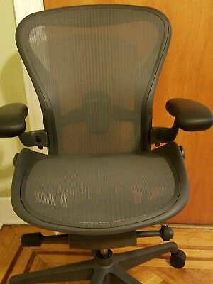 Herman Miller Aeron 2018 REMASTERED  Chair.   Size B. fully adjustable.