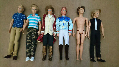 Ken dolls mix bundle some articulate and mostly clothed