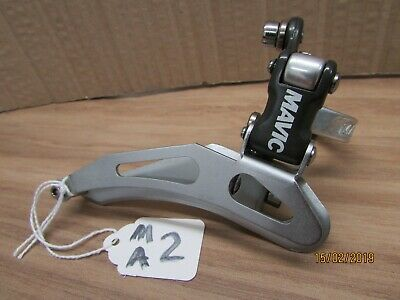 NOS MAVIC 860 FRONT DERAILLEUR,  28mm BAND ON. ( MA2)