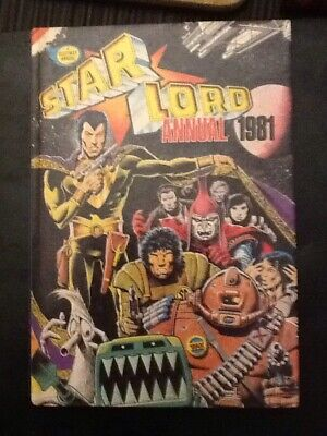 Star Lord Annual 1981 Hardback Book 2000AD Strontium Dog Ro Busters