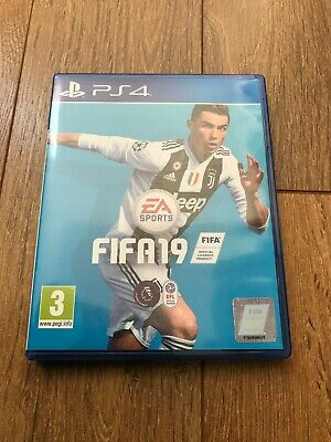 fifa 19 ps4 game good condition
