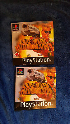 Cover & Anleitung (Play Station 1)