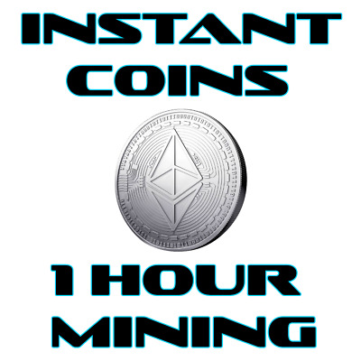 Ethereum 1 Hour Mining Contract .5 ETH Guaranteed! Available Instantly!