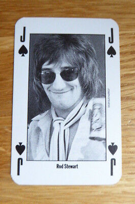 Rod Stewart Nme New Musical Express Playing Card Mint 1991