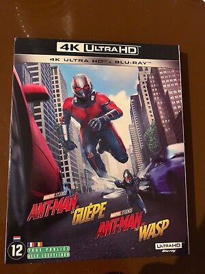 4K Ultra Hd + Blu Ray ** Ant-Man Et La Guepe **