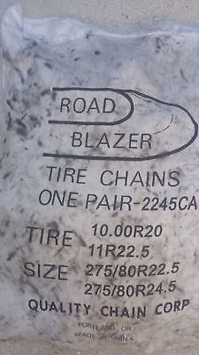 Road Blazer Tire Chains One Pair 2245 CAM