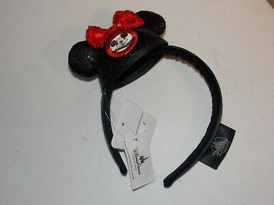 Disney Parks 2018 Mickey Mouse Club Mouseketeer Mini Ear Hat Sequin Headband New