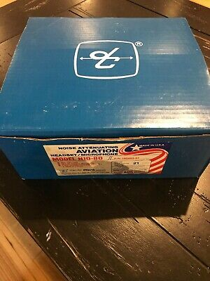 David Clark H10-80 Aviation Headset Complete In Box Wrapped WES1230