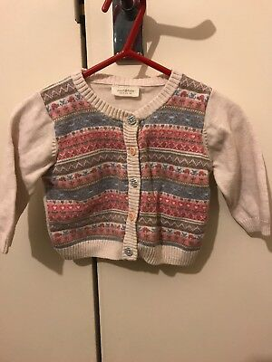 Next Girls 3-6 Months Cardigan