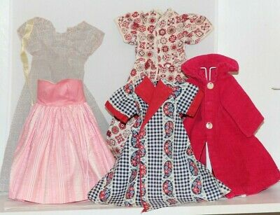 "1950's Vintage Doll Lot Clothes, Dress, and Shoes for 20"" Cissy and Friends,"