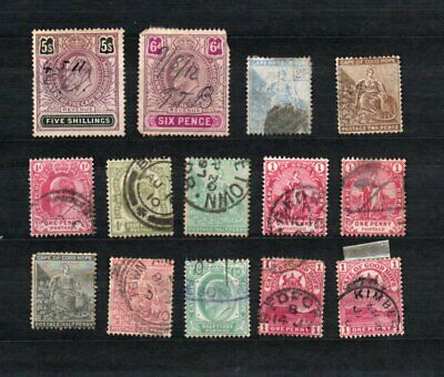 Cape of good hop used stamp collection as seen mixed condition