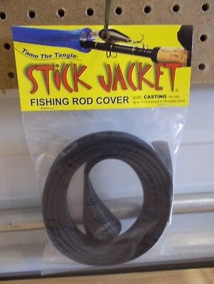 Stick Jacket fishing rod cover SPINNING red color NIP