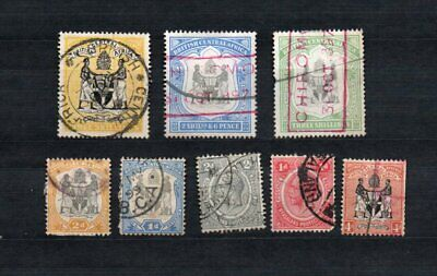 British central Africa used stamp collection as seen mixed condition