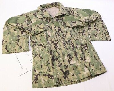 NEW Crye Precision AOR2 Navy Custom Field Shirt Blouse SMALL-REGULAR SEAL DEVGRU