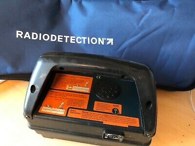CAT & GENNY , Radiodetection Cable avoidance Mk2 with cable kit and earth pin.