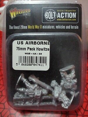 Bolt Action, US Airborne, 75mm Pack Howitzer