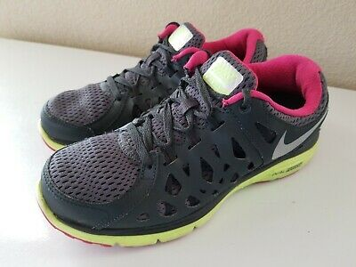 Nike Dual Fusion Run 2 Running Shoe Womens Size 6.5 MPN 599564-009 1ee7354af