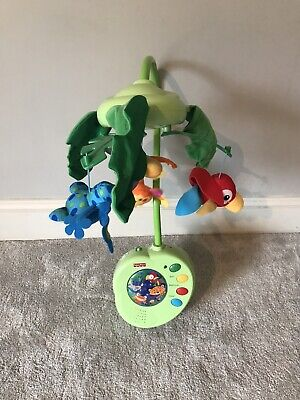Fisher Price Rainforest Peek a boo musical cot mobile