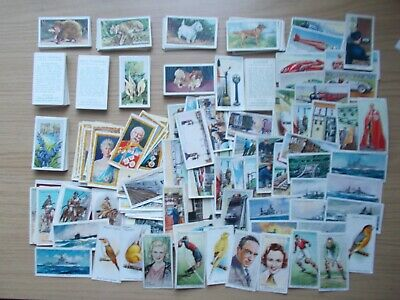 Large Job Lot Of 250 Good Condition Cigarette Cards - Includes 3 Full Sets