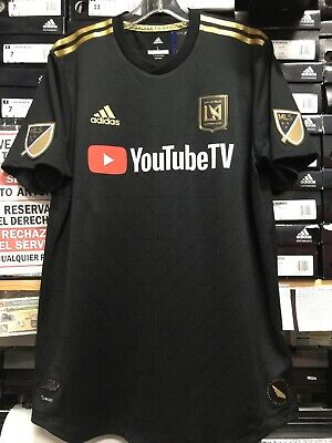 f6f7ad544 Adidas LAFC HOME JERSEY 2019 Authentic Jersey  10 Carlos Vela Size Small  Only