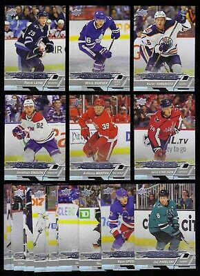 2018-19 Upper Deck Overtime Wave 2 LOT x26 Laine Mantha Marner Yamamoto Drouin +