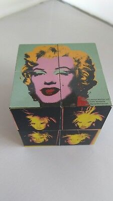 ANDY WARHOL Limited Edition Magic Cube, 2001 Pop Art Puzzle