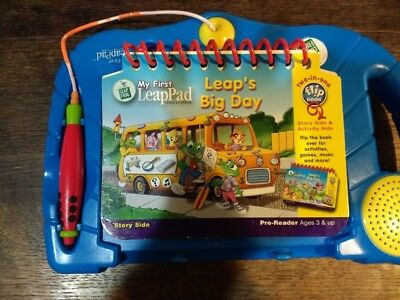 Leap Frog My First Leap Pad in Blue with Big Day Book
