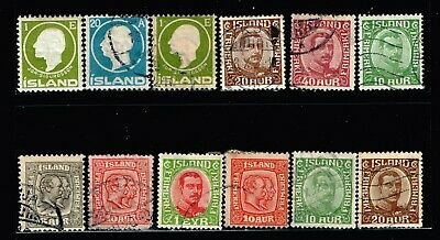Iceland Stamp Used And Mint Stamps Collection Lot
