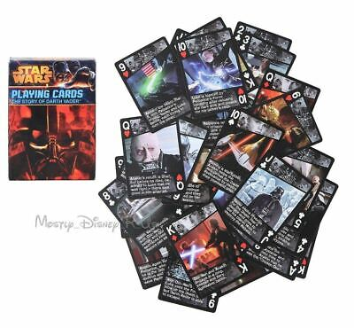 New Star Wars The Story Of Darth Vader Playing Cards Sealed Deck Of 52