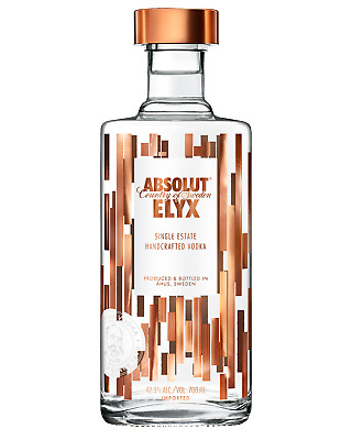 Absolut Elyx Vodka 700mL Spirits case of 6