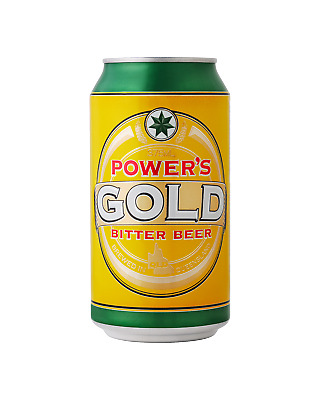 Powers Gold Cans 30 Block 375mL Beer case of 30