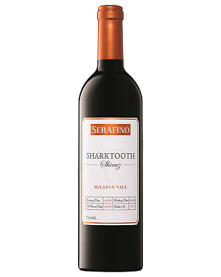 Serafino Sharktooth Shiraz Red Wine McLaren Vale 750mL case of 6