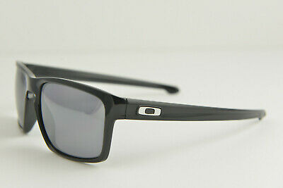 NEW Oakley SLIVER Polished Black/Black Iridium 57-18-140 SUNGLASSES OO9262-