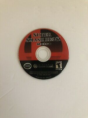 Super Smash Bros. Melee (Nintendo GameCube 2001) Disc Only
