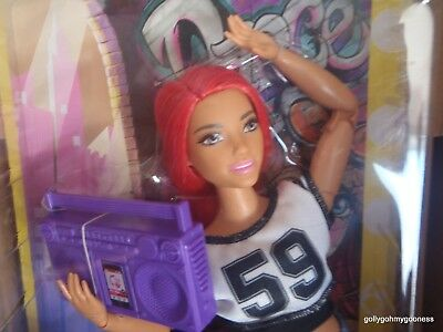 BEAUTIFUL Barbie Made to Move Curvy NEW NRFB Mattels latest Doll shape #7 WOW