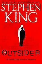 NEW - The Outsider by Stephen King (English) Paperback Book