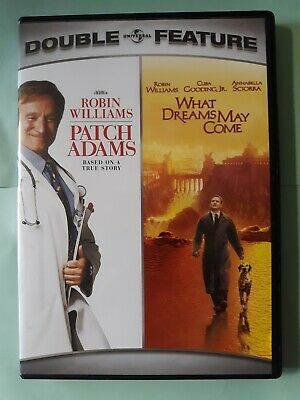 Patch Adams/What Dreams May Come Double Feature (DVD, 2007, 2-Disc Set)